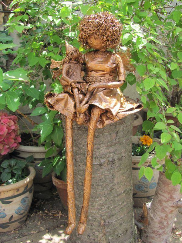 Unique Little Garden Fairy Gardens Pinterest Gardens