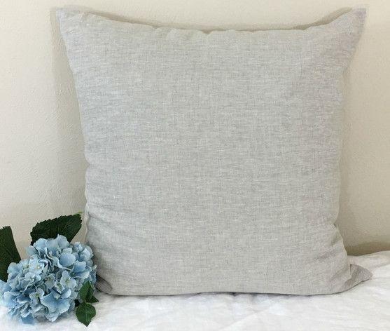 Best Natural Linen Sham Made In Medium Weight Linen – Simple 640 x 480
