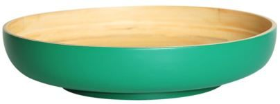 Beautiful bamboo serving dishes in fresh, vibrant colours. Designed with sharing in mind - think salads, curries, noodles. Fill with a fresh salad for summer entertaining or pile high with fruit to create a striking display for your kitchen table. Pair with our bamboo salad servers for a wonderful gift.