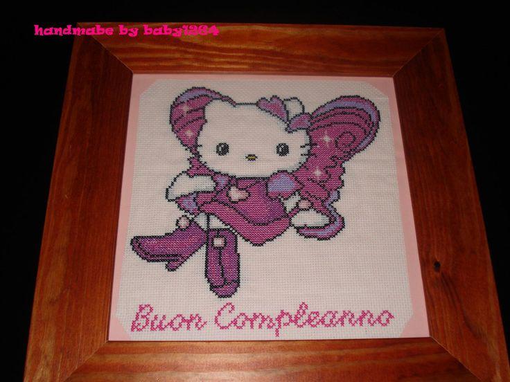 Hello Kitty per il compleanno di mia cognata<3