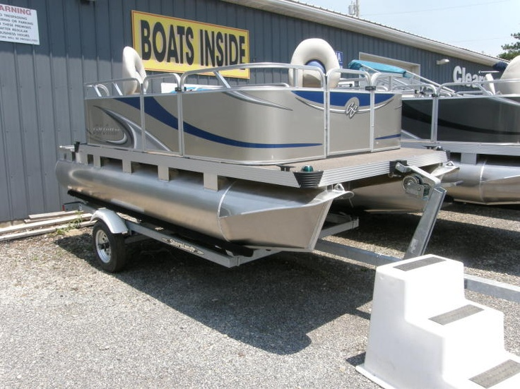 1000 images about new and used boats on pinterest for Used fishing pontoon boats for sale