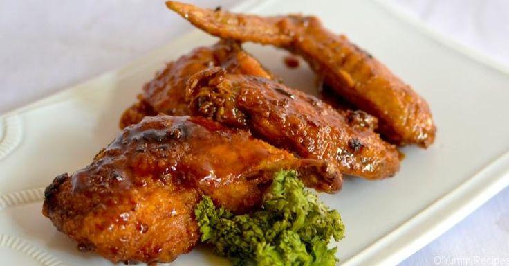 Caramelized Chicken Wings Recipe