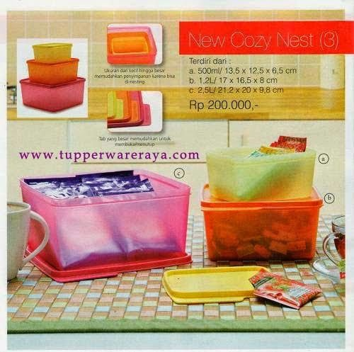 Promo Tupperware April 2014 - New Cozinest