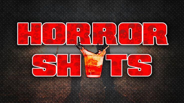 HORROR SHOTS alcoholic HALLOWEEN adult drinks. Halloween party. Creative halloween shots. Horror shots
