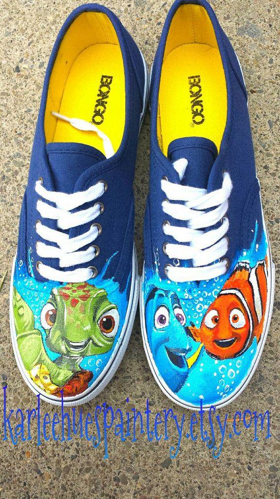 Finding Nemo Nike Shoes
