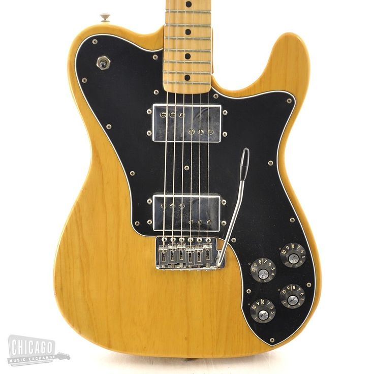 Fender Telecaster Deluxe Natural 1975 | Chicago Music Exchange