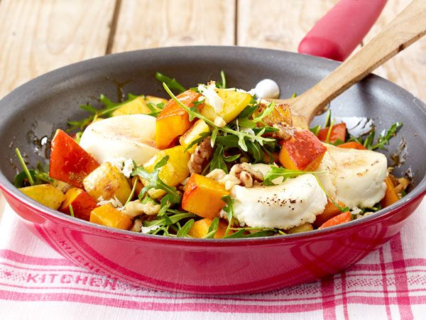 Günstig kochen - preiswerte Gerichte für jeden Tag - hokkaidopfanne  Rezept