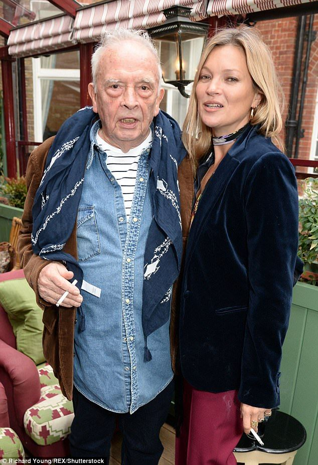 Kate Moss celebrates David Bailey's 80th birthday | Daily Mail Online