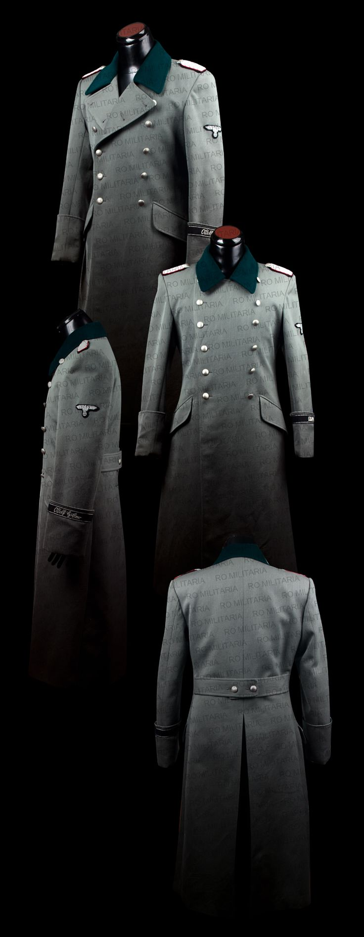 officer's M36 coat www.romilitaria.com