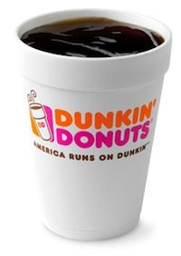 dunkin-donuts-caffeine-content Small Coffee Coolata: 16mg (about the same as 8oz decaf)