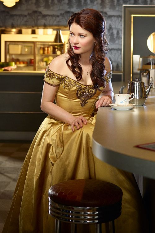 Once Upon A Time -Belle  Her dress is gorgeous!