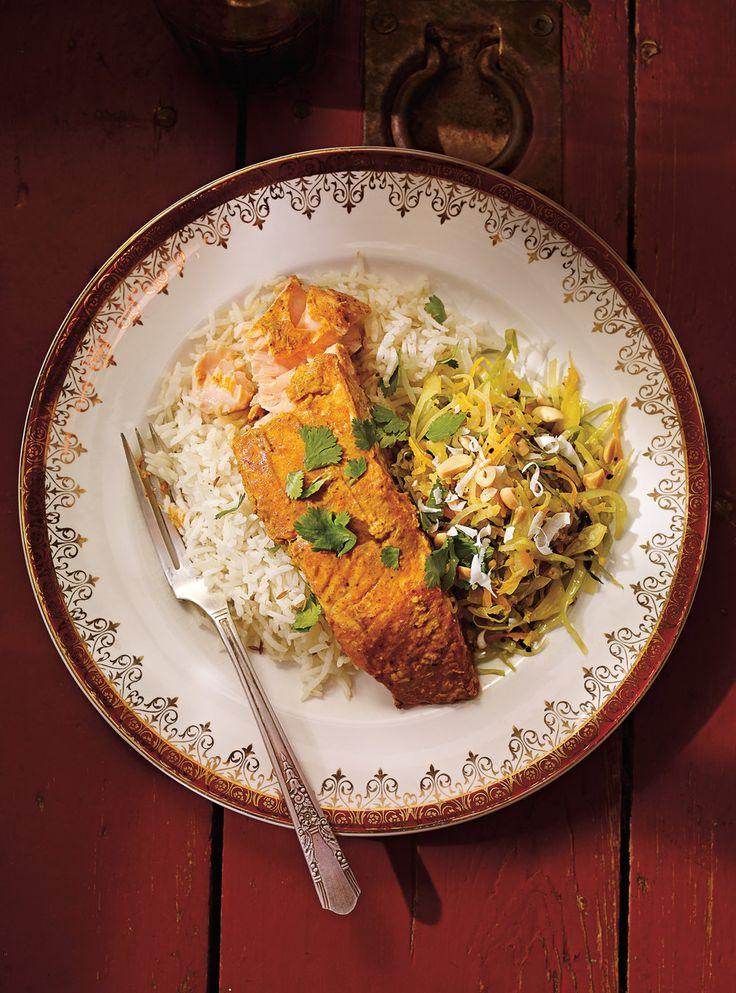 Recette de Ricardo de saumon tandoori