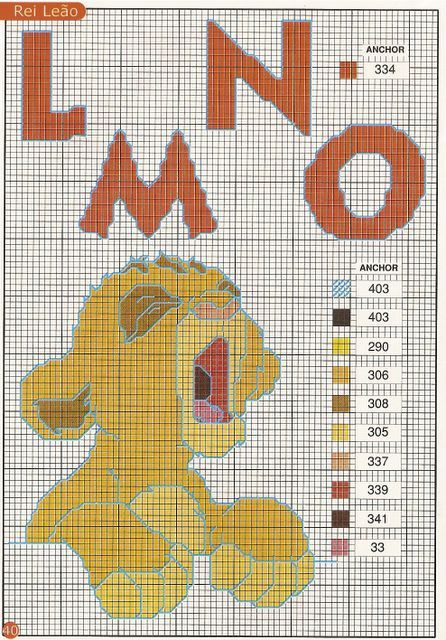 41 Best Images About Cross Stitch The Lion King On