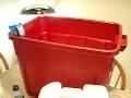 super easy self watering bin