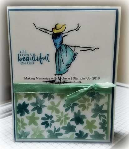 Beautiful You and Blossoms and Bliss | MakingMemorieswithMichelle.weebly.com | Stampin' Up!