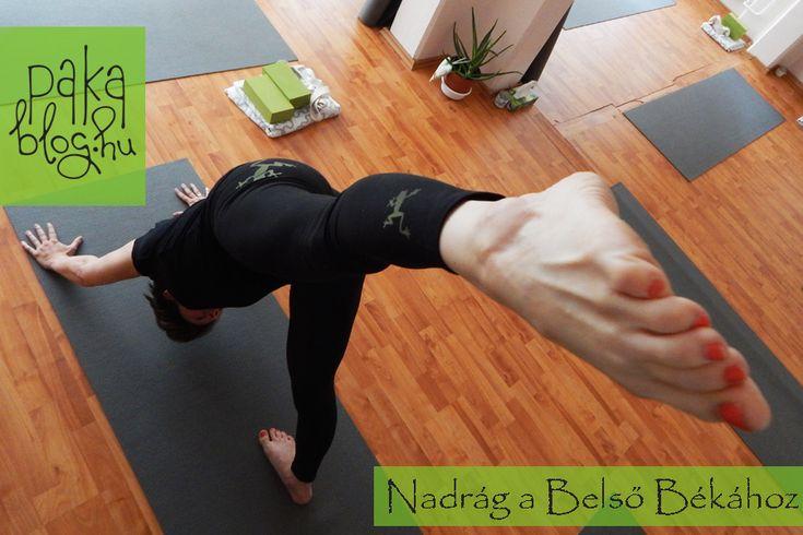 yoga pants frog