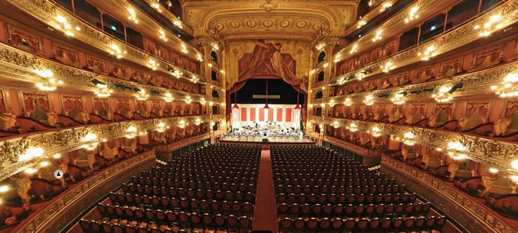 This is a picture of Teatro Colon  in Bogota, Colombia. This was the first place I saw the Russian Ballet performed.  In a word, magnificent!  What can't be learned from that?