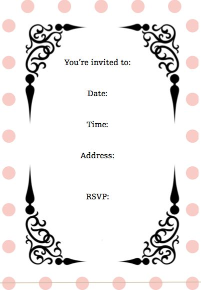 Screen shot 2011-08-01 at 84742 AM \u2026 Party invitations in 2018\u2026