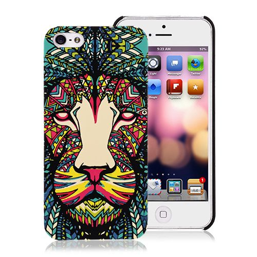Popular Fashion Lion Case Forest King Series Cover for iPhone 5 5S #popular #fashion #case #forestking #iphone5 #cover #fashion