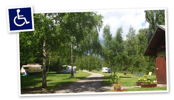 handicamping en Savoie, France