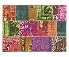 Tappeto in tessuto rasato con stampa digitale Gwidon - 100x140 cm