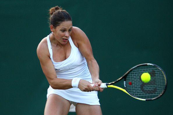 Stephanie Dubois - The Championships - Wimbledon 2011: Day Three