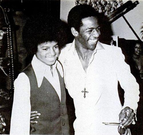 Michael and Al Green