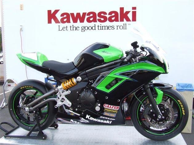 Kawasaki's 2012 Ninja 650R Project