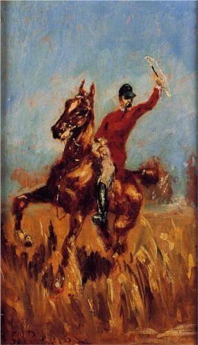 Master of the Hunt - Henri de Toulouse-Lautrec