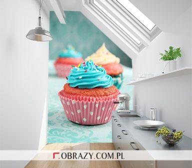 fototapeta w kuchni - słodycze