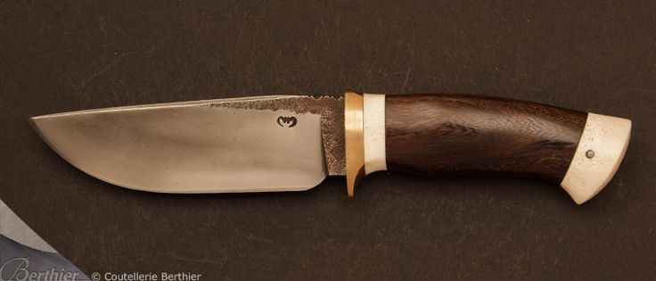 Moing knives :: Bahia forged fixed-blade knife n°20