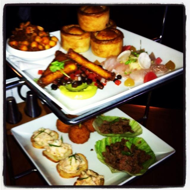Tasting plate at the Opera Bar Sydney