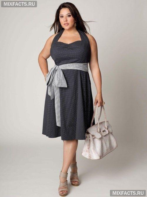 Мода для полных и невысоких женщин -- подборка с фото