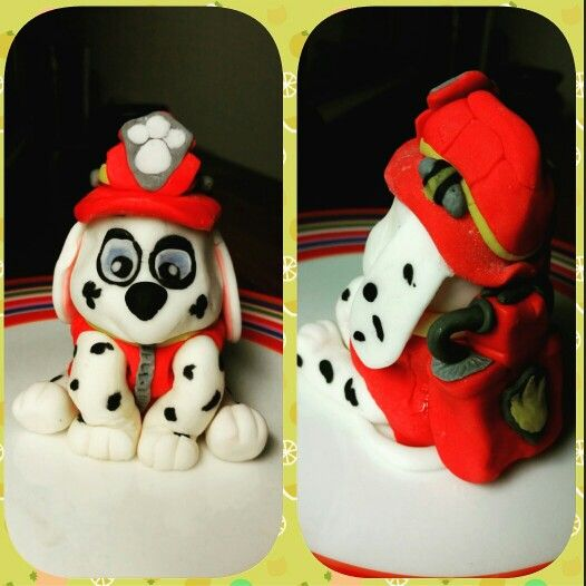 Paw patrol cake topper. Birthday cake topper. 3y birthday. Ryhmä hau kakku koriste. 3v kakku. Birthday decoration.