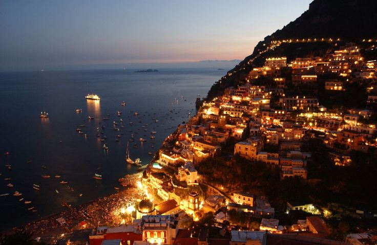 A tiny little town called Positano, located on the Amalfi Coast in Italy. Absolute splendor.