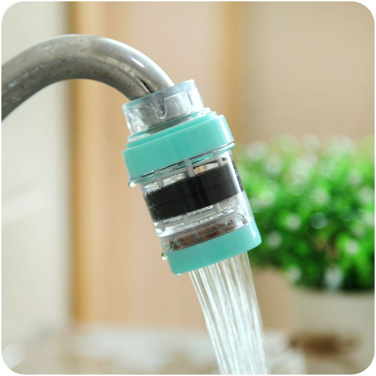 Home use Magnetized Water Purifier Sprayers Faucet Adapter Water Filter Kitchen Bathroom Accessories C1