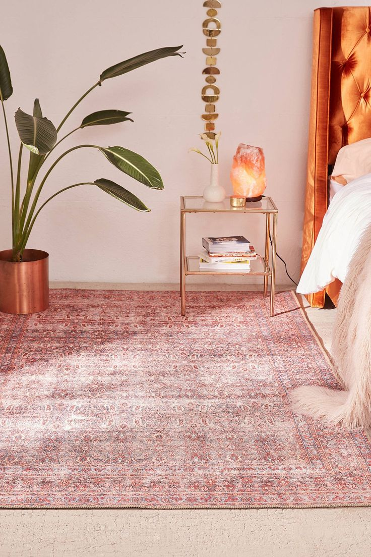 Mable Printed Rug | Urban Outfitters