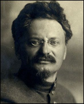 leon trotsky : Russian revolutionary and Communist theorist who helped Lenin and built up the army,