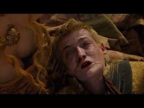 Joffrey Baratheon's Death Scene | Game of Thrones - King Joffrey Dies at...