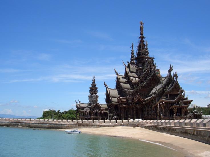 The Sanctuary of Truth, Pattaya Thailand