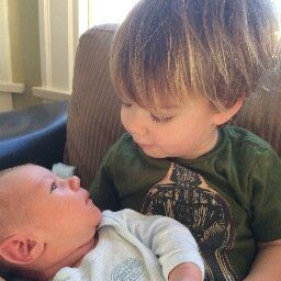 Another Adorable Pic of Thomas and Shepherd Padalecki.