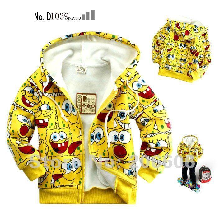 free shipping best selling cartoon autumn winter hoodies jacket for children fleece kids winter coat age 2 8 Y-in Hoodies & Sweatshirts from Apparel & Accessories on Aliexpress.com