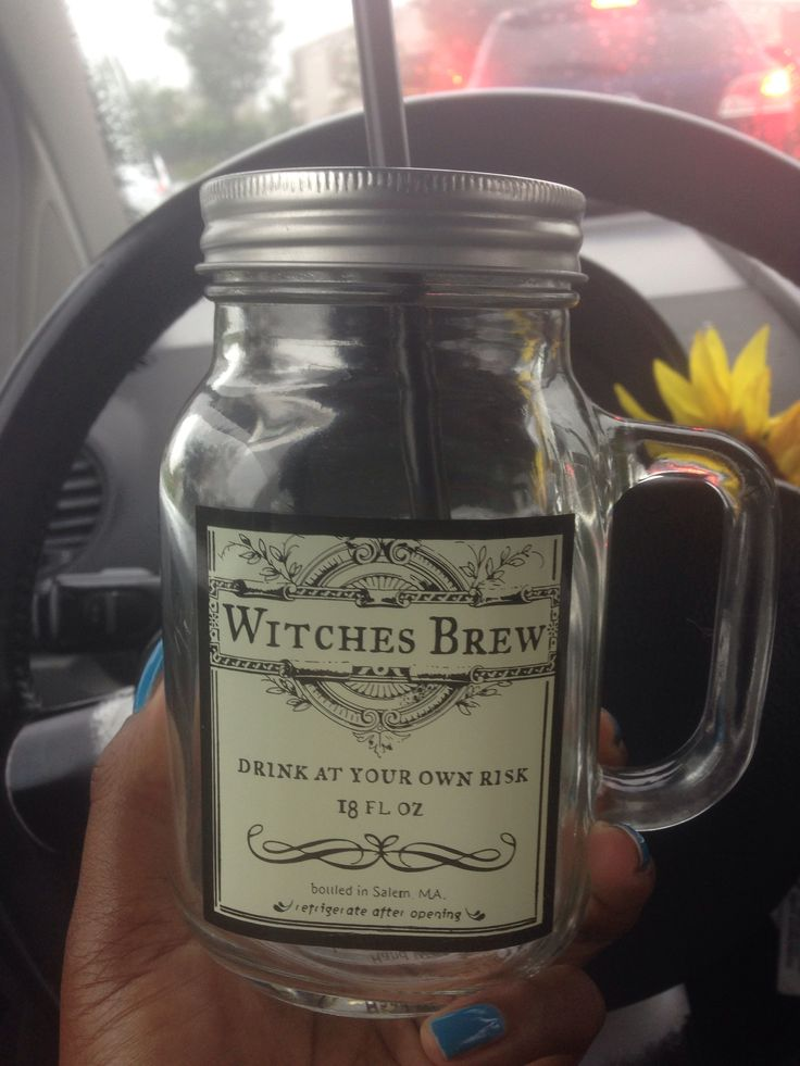 Witches Brew Drink At Your Own Risk Bottled In Salem Ma