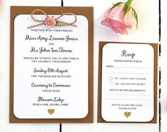 Rustic Rose and Gold Heart Small Evening by LittleIndieStudio