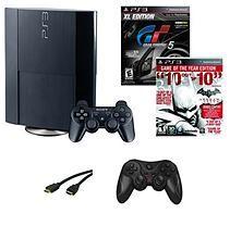 PS3 12 Gb System with Batman Arkham City & Gran Turismo 5 XL