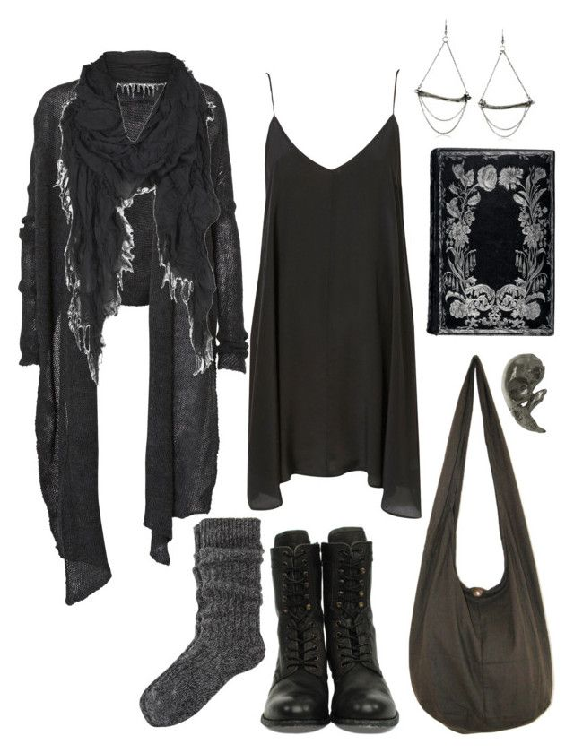 """Postapocalyptic Summer Heat"" by n-nyx ❤ liked on Polyvore featuring H by Hudson, Helmut Lang, River Island, Chris Habana, AllSaints, Emilie Morris, apocalypse, dystopian, postapocalyptic and strega"