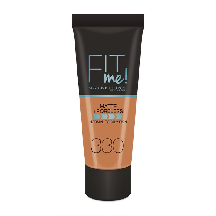 Maybelline New York Fit Me Matte & Poreless Foundation.  Maybelline New York Fit Me Matte & Poreless Foundation's ultra-lightweight foundation contains micro-powders...