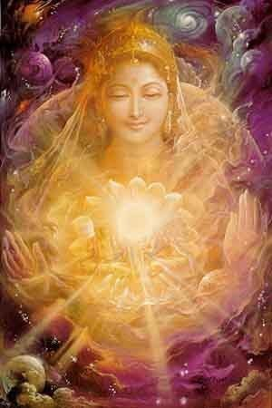 MOTHER EARTH ~ Prithvi (Sanskrit: पृथ्वी pṛthvī, also पृथिवी pṛthivī) is the Sanskrit name for earth and its essence Prithivi Tattwa, in the form of a mother goddess or godmother. Prithvi is also called Dhra, Dharti, Dhrithri, meaning that which holds everything.