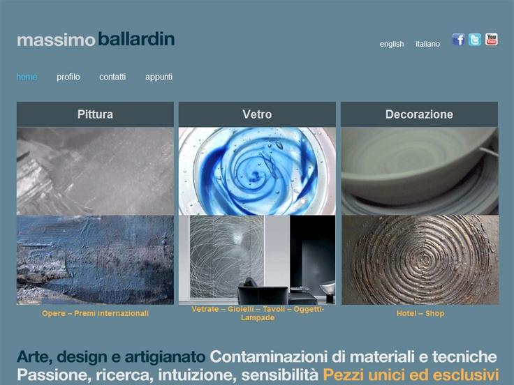 Website Massimo Ballardin