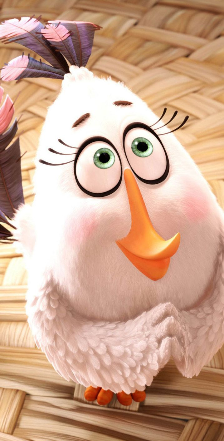 Movie Wallpapers HD and Widescreen | Matilda Angry Birds Movie wallpaper http://i0.wp.com/www.fabul… | Angry birds movie. Angry birds movie characters ...